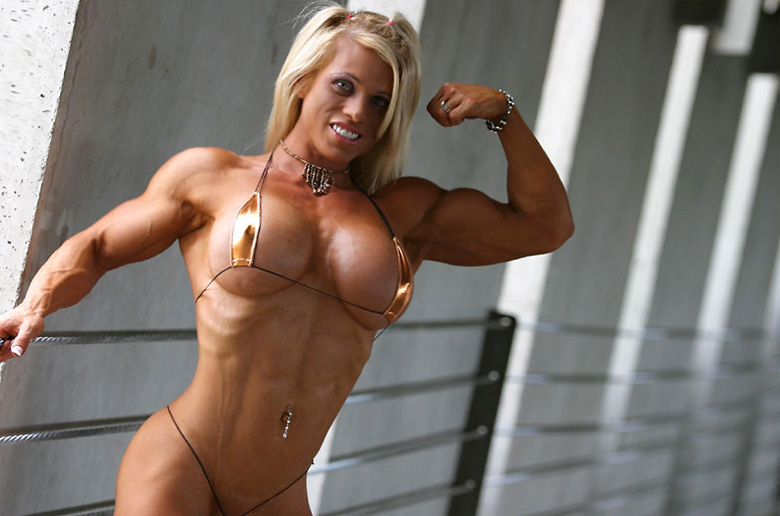 Big boobs and muscle