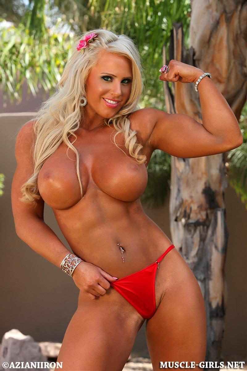 Gorgeous Fitness Goddess Megan Avalon sexy posing | Muscle ...